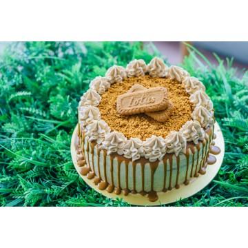 Speculoos Cake (sliced)