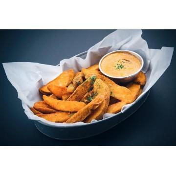 Nacho Cheese Potato Wedges