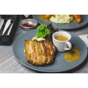 Grilled Chicken & Mash
